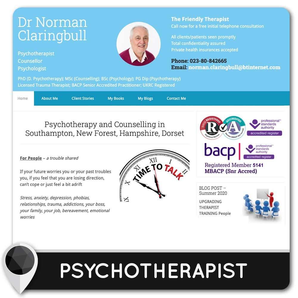 Psychotherapist in Southampton