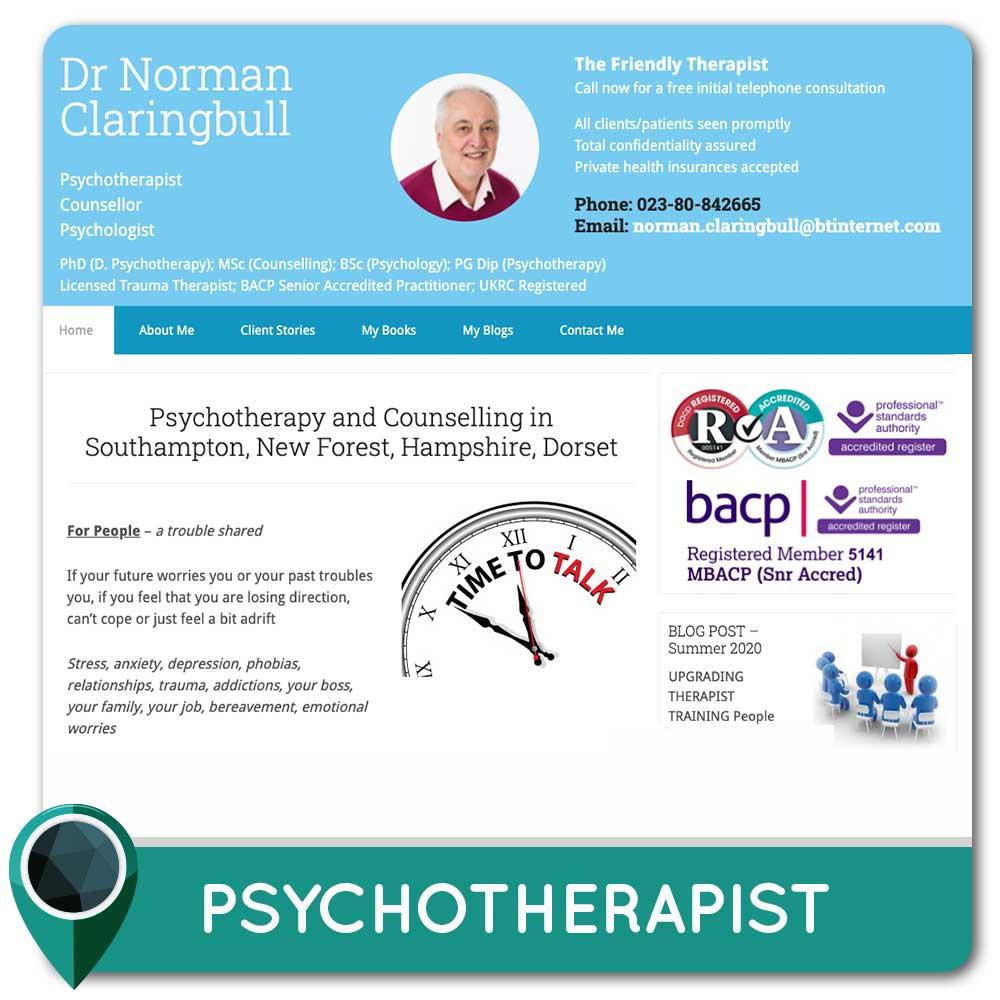 Psychotherapist Southampton, Hampshire