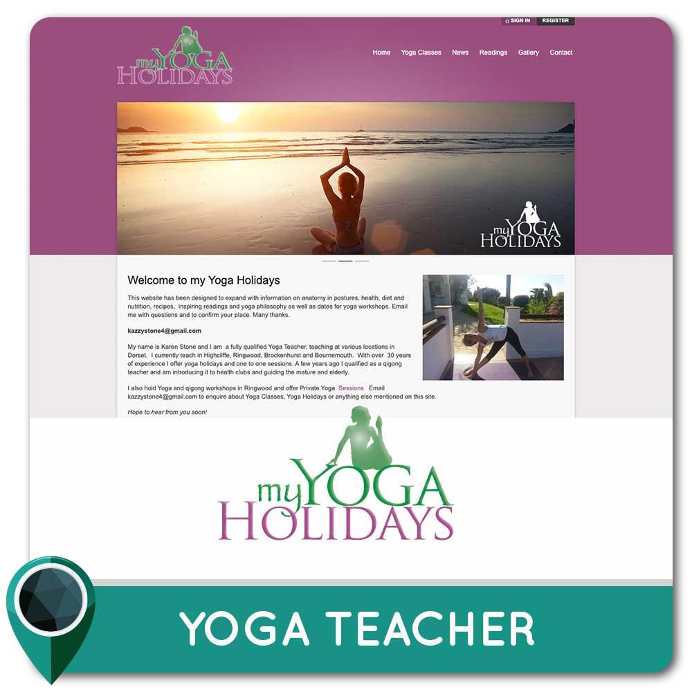 Yoga Teacher Ringwood Karen Stone
